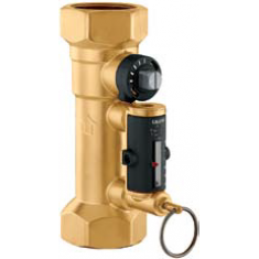 "1"" balancing valve with flow meter 10-40 litre/min"