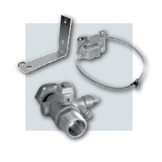 Expansion Vessel connecting kit including support valve up to 25ltr