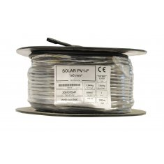 10mm PV Cable 100m (Black)