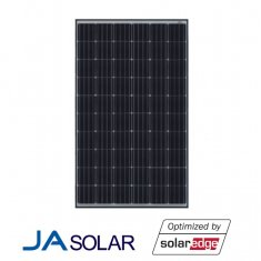 300W JA Solar Smart black frame mono panel