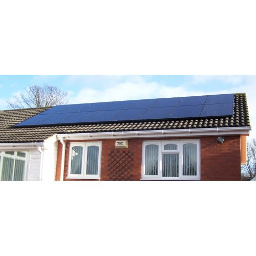 Solar PV Pitched Roof Installation