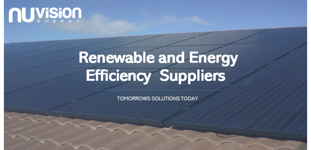 NuVision Homepage for Renewables