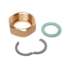 Backnut, circlip and washer DN16