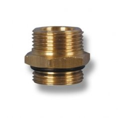 Self seal double nipple DN16 3/4''