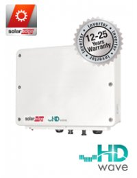 SolarEdge HD Wave 5000 inverter without screen