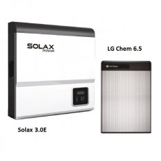 Solax Hybrid 3.0E and LG Chem 6.5 battery