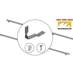 VDV 1.0kW Landscape- Roof Hook Tile Twist 2 x Rows of 2
