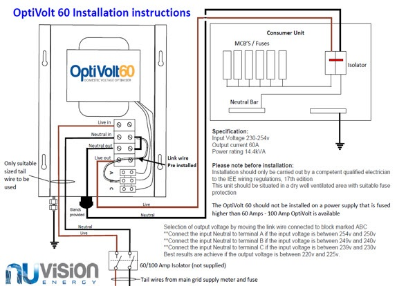Installation Instructions the optivolt installation guide henley block wiring diagram at gsmx.co