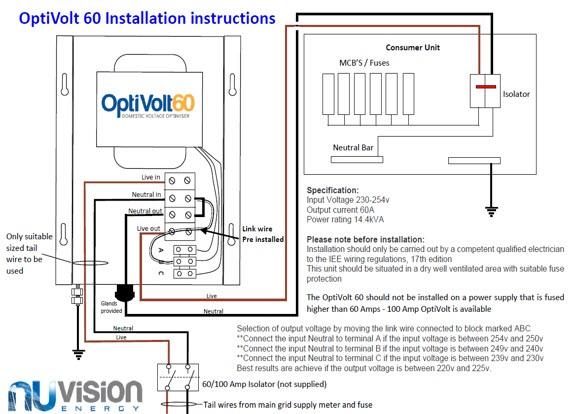 Installation Instructions the optivolt installation guide henley block wiring diagram at webbmarketing.co