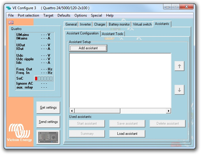 Guide to the ve configure software for setting up your multiplus step 9 save the settings publicscrutiny Choice Image